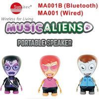 Mini portable Robot music bluetooth speakers for phone