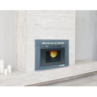 Luxurious Pellet Stove Fireplace Insert with fashion look
