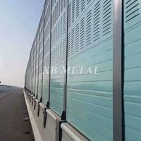 Chinese Factory Supplies Noise-Reducing Galvanized Sheet Sound Barrier