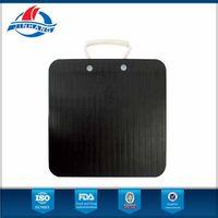 HDPE crane outrigger pad, trailer plate jack pads/crane leg support mat