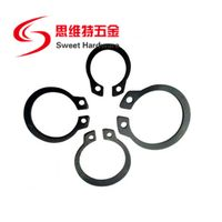 China manufacturer 65Mn black steel circlip retaining ring for shafts DIN471