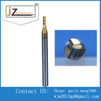 Precision Carbide Three Blades Aluminium Using CNC End Mills
