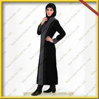2014 Newest muslim women abaya made100% polyester KDT - 1006 thumbnail image