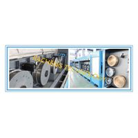 Two wires Copper Rod Breakdown Machine with Annealer