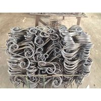wroughe iron cast steel