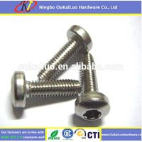 Torx Pan Head Trilobular Thread Forming Screws