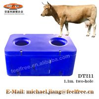 FEELFREE Durable thermo animal drinkers for cattle with 1.1M Two-Hole