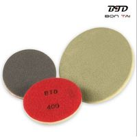 flexible diamond floor polishing pad