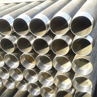 Casing tubes, casing pipe, flush joint casing, direct connecting casing, DCDMA casing BW, NW, HW, PW
