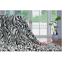 Printed coral fleece blanket thumbnail image