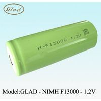 F size high power rechargeable ni-mh battery 13000mAh