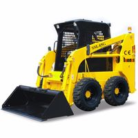 50HP baoomax mini skid steer loader