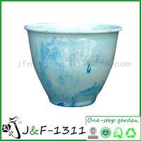 Outdoor wall planters plastic pots (J&F-1311)