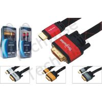 Multimedia Cable HDMI Type A plug to DVI Plug