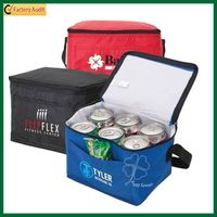 Outdoor Insulated Polyester 6 Cans Cooler Bag (TP-CB268) thumbnail image