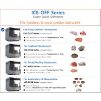 Defrosting machine of ICE-OFF for frozen meat, seafood, tuna thumbnail image