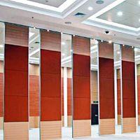 65 MM Thickness Banquet Sliding Doors Interior Room Divider for Hotel