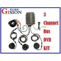 Free Shipping Car DVR,H.264 Digital Video Vehical DVR kit,PC Play Back,Backup,2 Channel Truck /Bus S