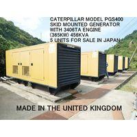 5 UNITS OF CATERPILLAR MODEL 400 GENERATOR FOR SALE IN JAPAN thumbnail image