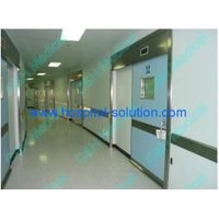 single leaf automatic sliding hermetic doors for hospital  medical clean room thumbnail image