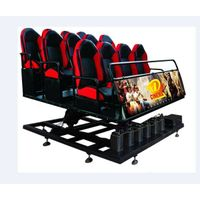 SGS CE 7d Interactive Theater Seating Chairs Real Feelings Electric System 7d cinema equipment
