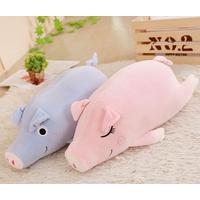 Super Soft Spandex plush material plush pig stuffed animal toys thumbnail image