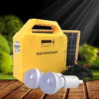 Multi function Solar lighting Kit Radio MP3 Music Bluetooth Flashlight