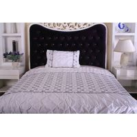 pintuck and embroidery bedding set