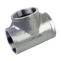 stainless steel cross tee fittings thumbnail image