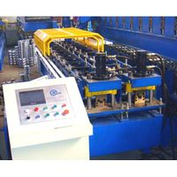 C U Z purlin roll forming machine / stud and track making machine