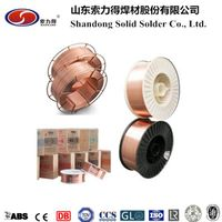 AWS A5.18 ER70S-6/SG2 mig welding wire manufacture from China