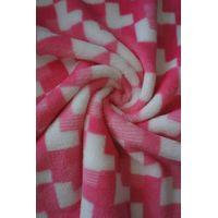sweet heart printed coral fleece