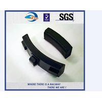 ZhongYue Customized Composite Brake Shoe Brake Block High Friction For Train And Metro
