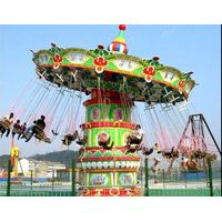 Attraction amusement park equipment flying chair rides kiddie rides for sale