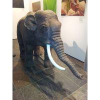 Playground animatronic model life size simulation elephant