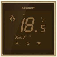 HVAC LED Digital Touch Screen Room Temperature Thermostat thumbnail image