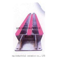 Ceramic dewatering plate