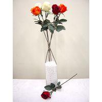 Artifical Flower Silk Flower Single Rose Bud