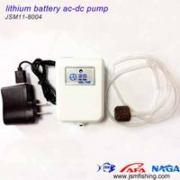 unique shape ultra-quiet lithium battery ac-dc small aquarium air pump