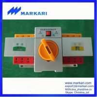 Dual Power Changeover Automatic Transfer Switch, ATS , MQ3-63A