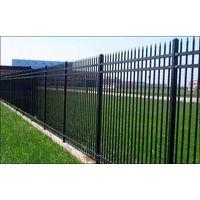 Powder Coated Galv. Steel Palisade Fence