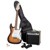 Electric Guitar Set Sunburst