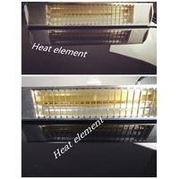 Quartz Tube Patio Infrared Heaters