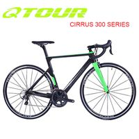 QTOUR Cirrus 300 Road Bicycle series 22 speed carbon road Bicycle 700C China OEM carbon bicycle