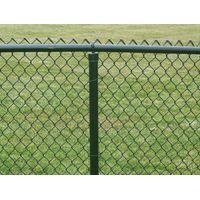 chain kink fence(PVC coated
