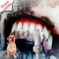 Wholesale Shareusmile New Dog Toothbrush pet teeth cleaning kit at wholesale prices