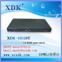 XDK 2 port Gepon olt optical line terminal Epon OLT
