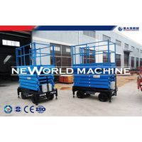 Warehouse Factory Home Mobile Hydraulic Lift Platform / Hydraulic Lift Table thumbnail image