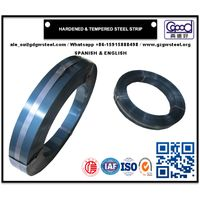 Hardened & Tempered Steel Strip