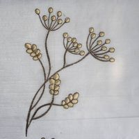 Embroider a flower